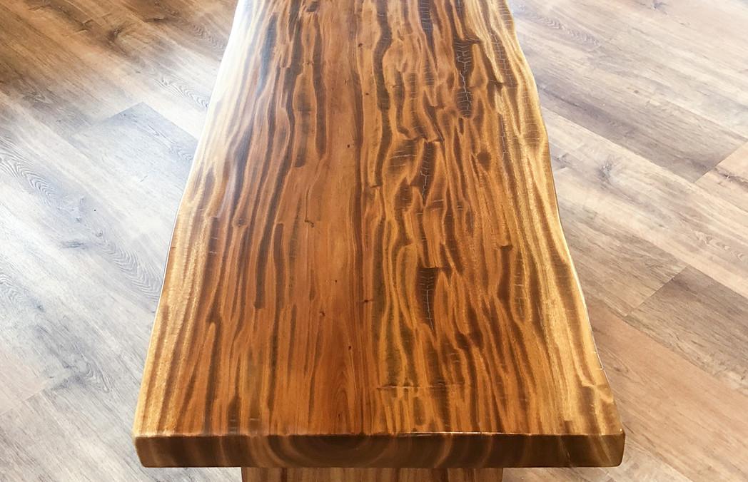 Asian Mahogany Coffee Table