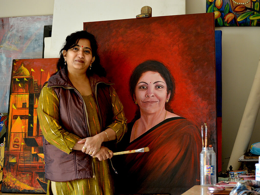 Portrait Painting Classes for Adult Kids