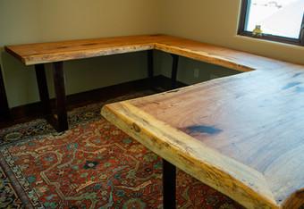 Live Edge Pecan Desk