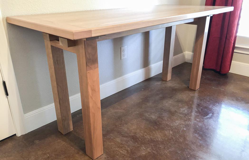 White Oak Utility Desk
