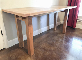 White Oak Utility Desk