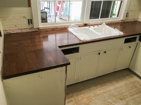 Solid Maple Countertop
