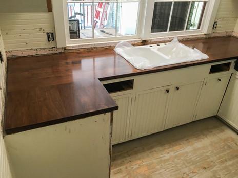 Solid Maple Countertop