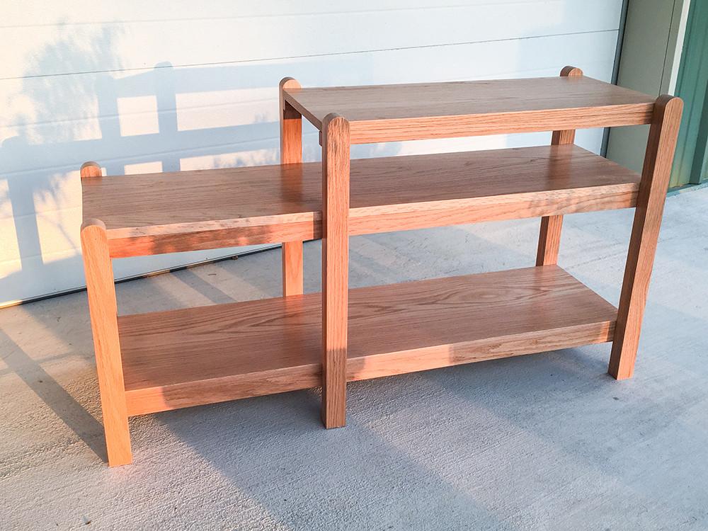 Red Oak Shelves