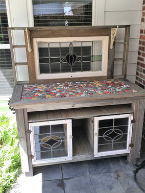 Reclaimed Potting Bench