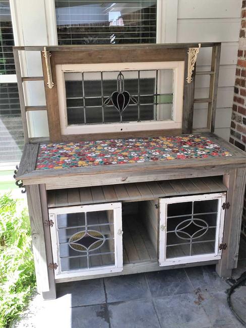 Reclaimed Potting Bench