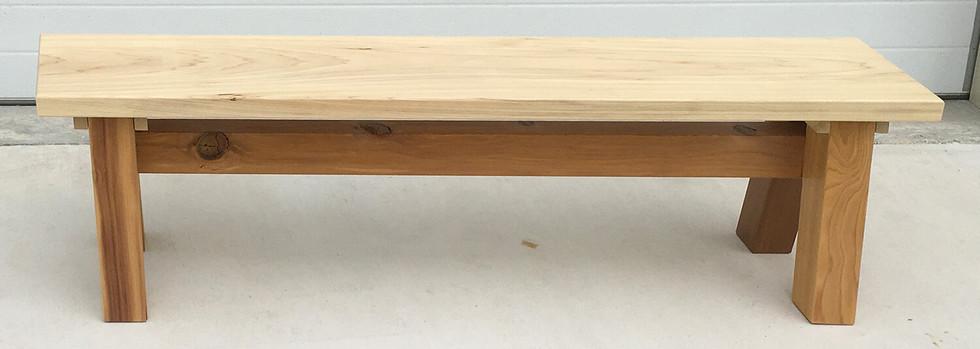 Poplar Patio Bench