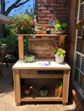 Personalized Potting Bench