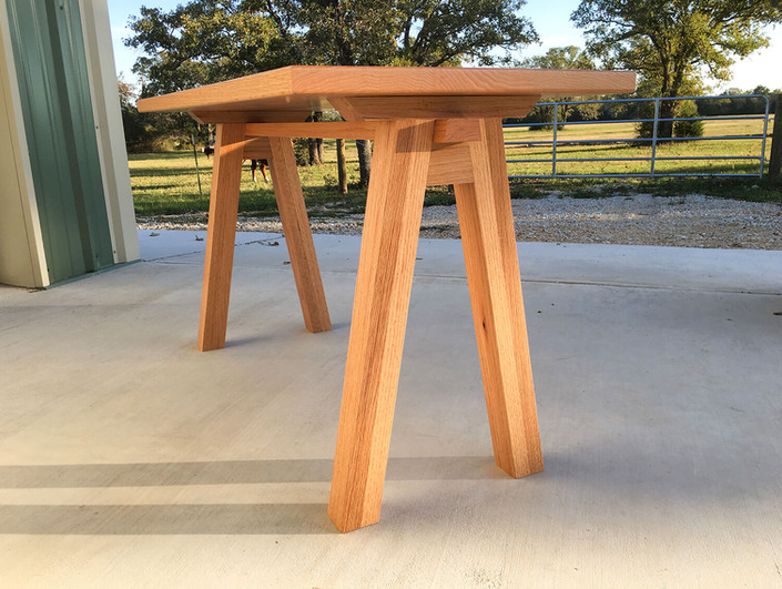 Red Oak Office Desk