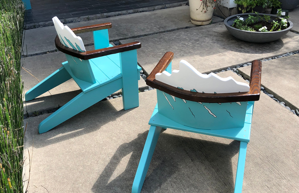 Outdoor Art Chairs