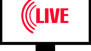 Live Icon seen on TV and online broadcasts