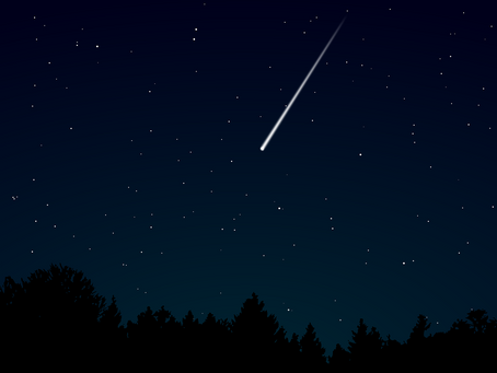 Geminid Meteor Shower Peaks Tonight 13th December and 14th December 2020