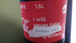 Found this on a bottle of coca cola packaging today was quite impressed
