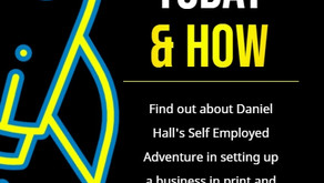 Start a Business Today & How written by Daniel Hall Book soon to be available to order