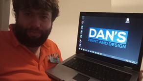 Dan's Print and Design on Twitter