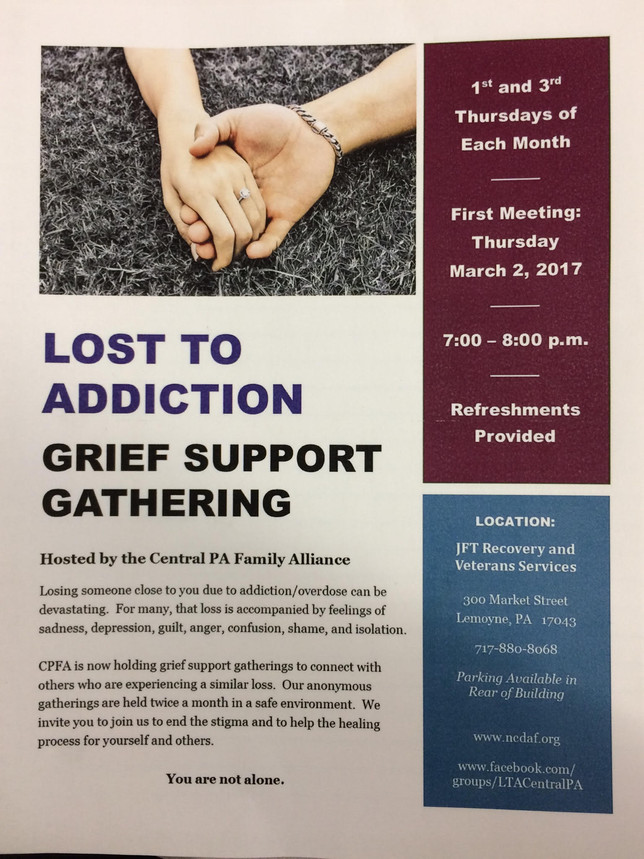 Lost to Addiction - Grief Support Group