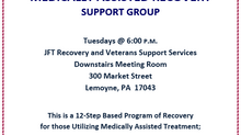 Medically Assisted Recovery Welcome at JFT