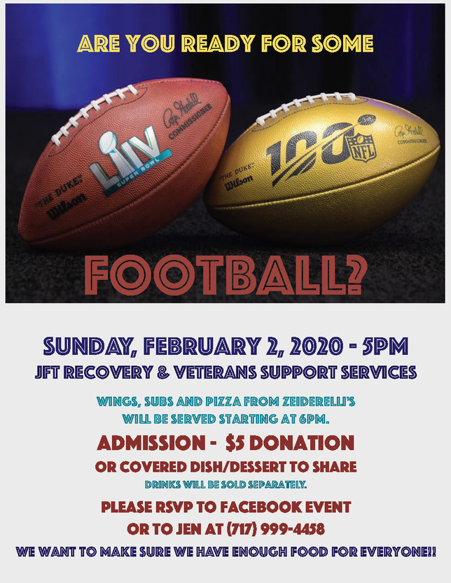 Join Us for Superbowl