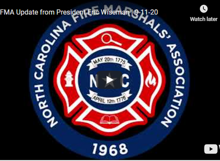Special NCFMA Update from President Eric Wiseman