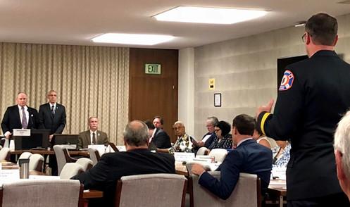 Jason Shepherd SPeaks during committee 2