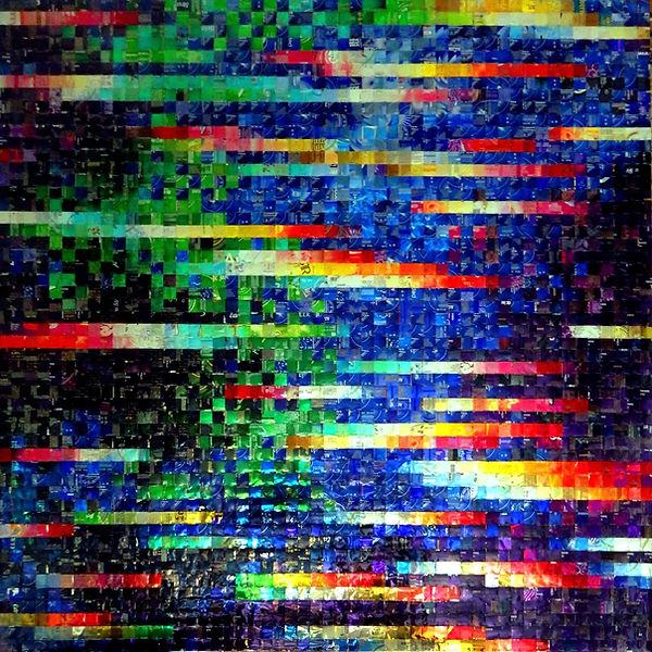 Poussières d'Étoiles Stardust canettes cans upcycling art