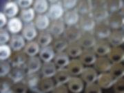 Monsieur Oh! Île de la Réunion Reunion Island canettes upcycling art cans top of cans