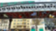 5 papillons sous metro google streetview