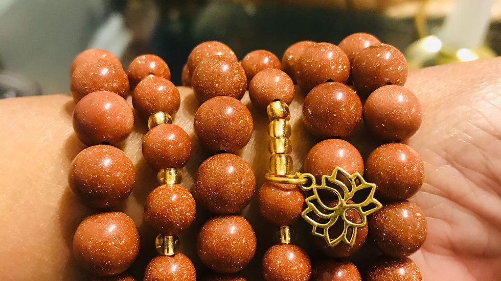 gold sandstone bracelt