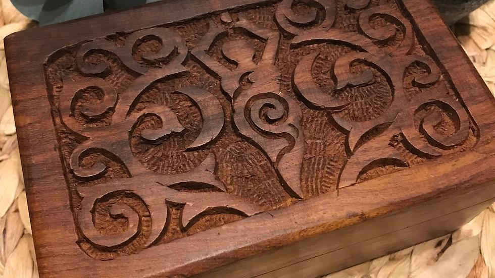 goddess wood box