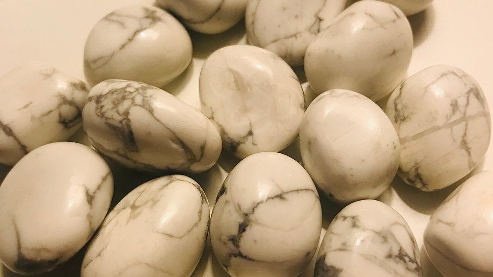 howlite pocket stones