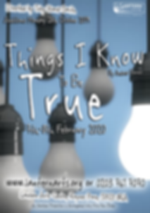 Things I Know to be True Poster with aud