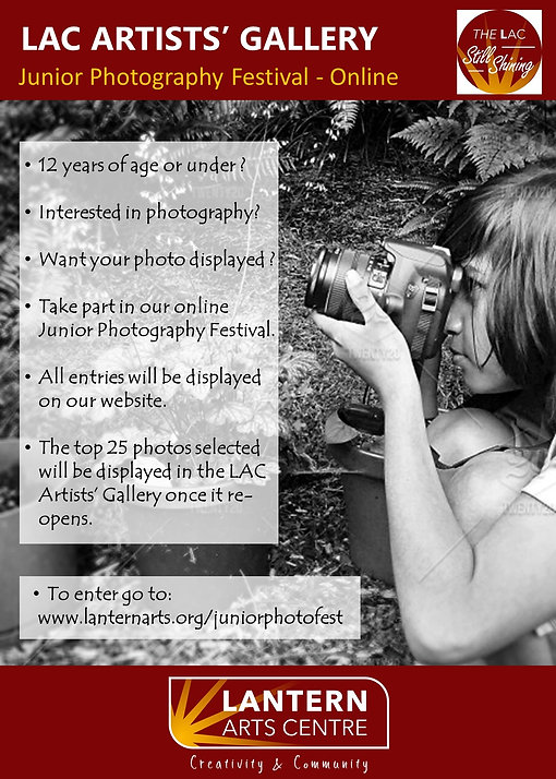 Junior Photo Festival Info sheet On LIne