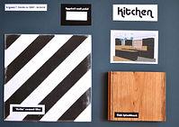 Kitchen sample board | Interior designer Dorset