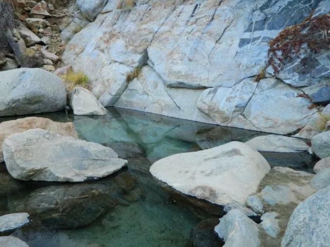 Disfruta las aguas termales de Santa Rita en Los Cabos