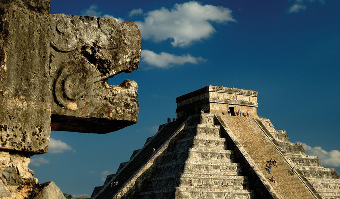 Chichen Itza and the descent of the Feathered Serpent