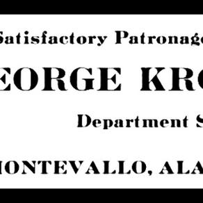 Montevallo Businessman and Entrepreneur, George Kroell
