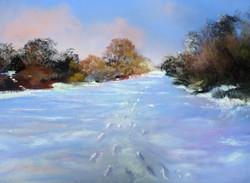 5- Catherine Lalaurette Chemin de neige