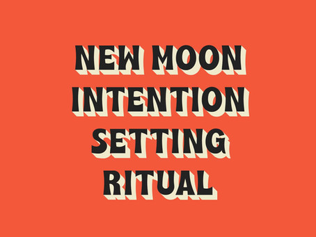 HOW TO DO A NEW MOON RITUAL