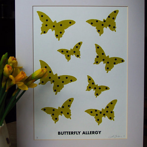 BUTTERFLY ALLERGY
