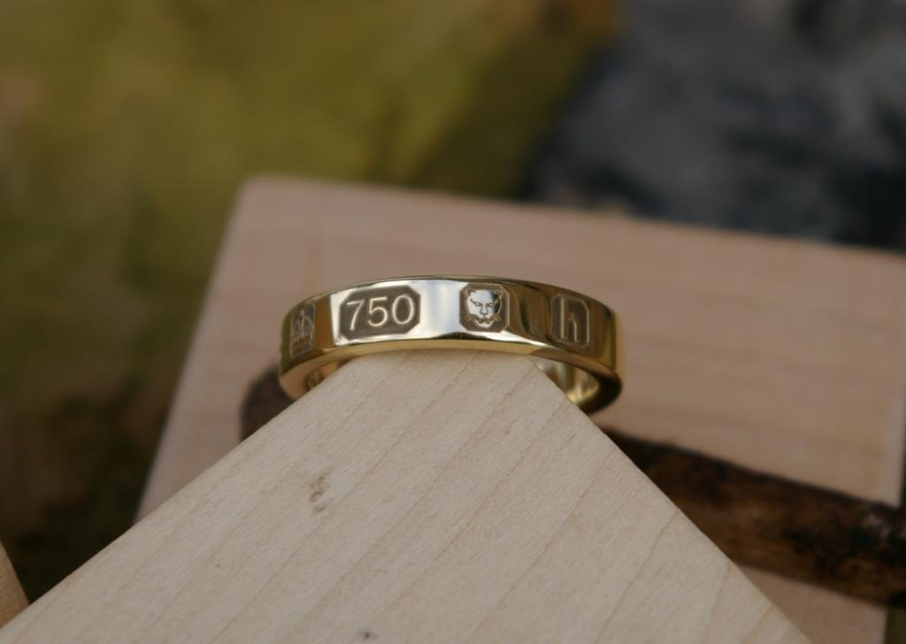 18ct Gold Hallmark Ring