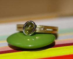 Ladder Ring with Cabochon