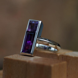 City Ring with 2 Stones