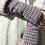 Thumbnail: GRID - OSLO - knitted fingerless mittens