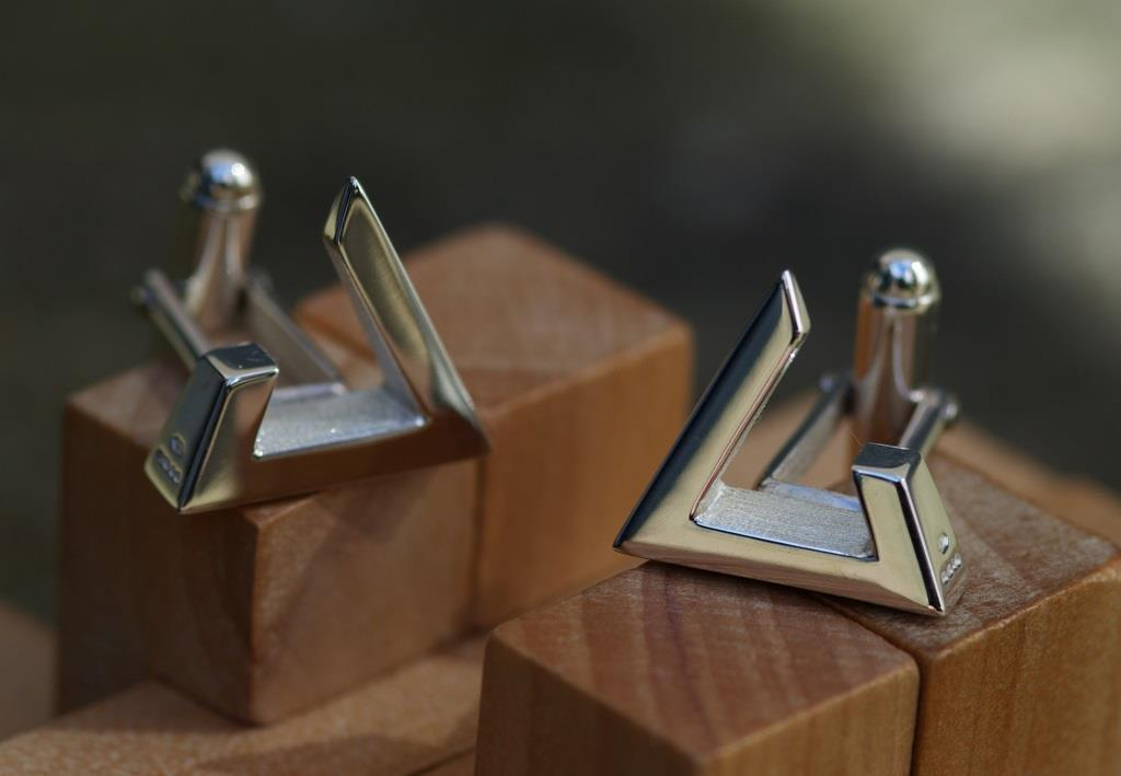 Triangle Cufflinks