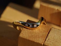 18ct Gold and Diamond Wedding Ring