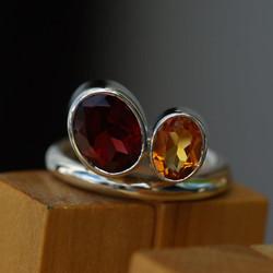 Lene's Pebbles Ring