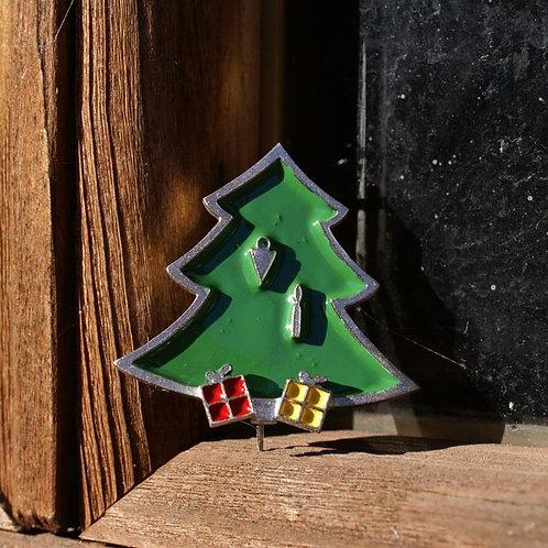 Christmas Tree Brooch by Tine Bladbjerg