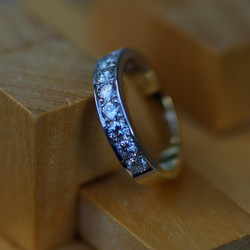 18ct Gold Half ET Ring