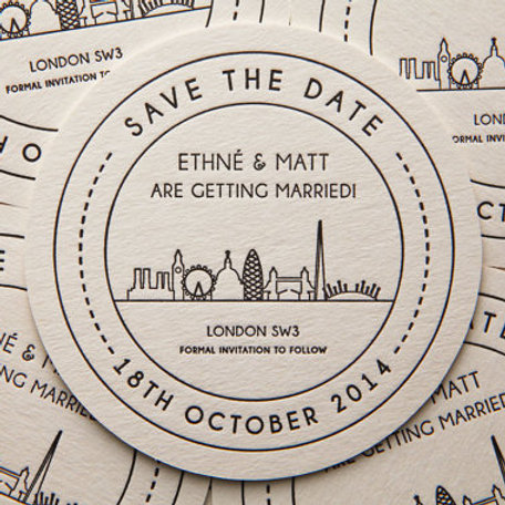London Landmarks - Save the Date