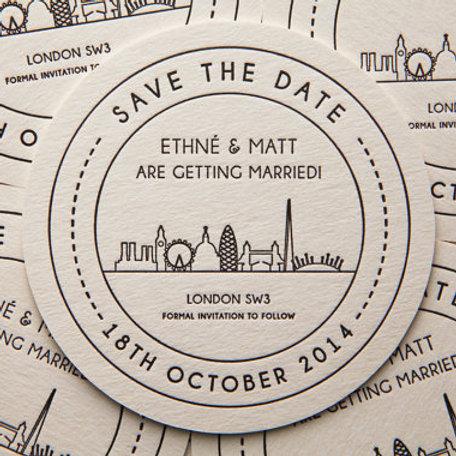 London Landmarks - Save the Date